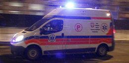 Pijany operator koparki spowodował wypadek. Trzy osoby ranne