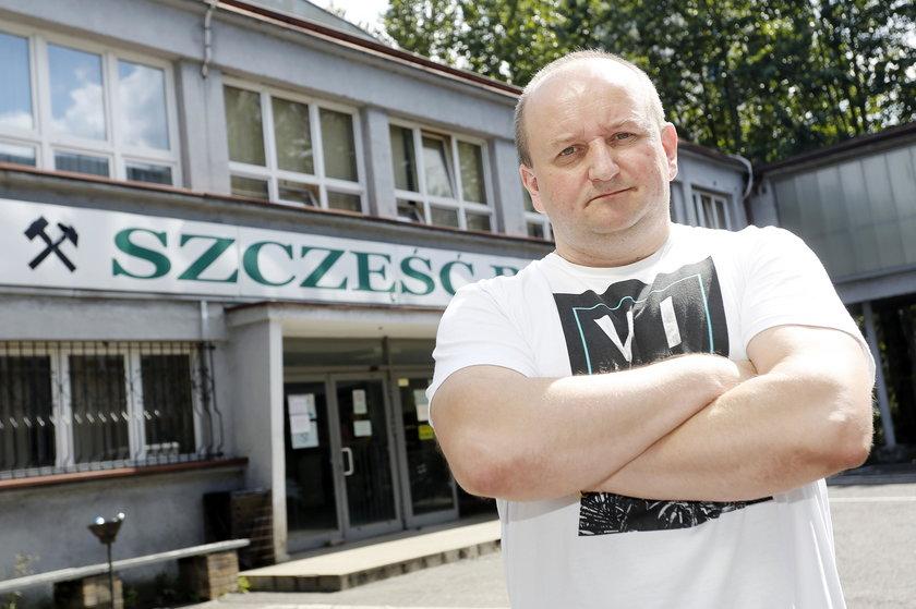 Tomasz Bula, górnik w KWK Wujek Ruch Śląsk