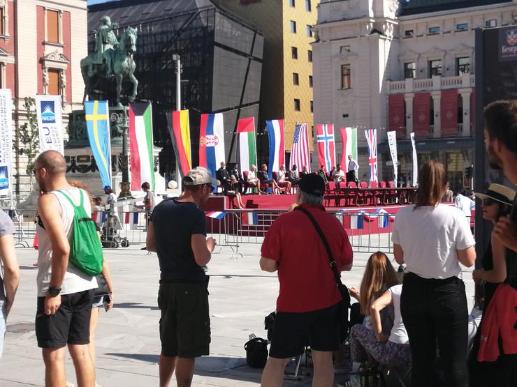 film snimanje foke trg republike
