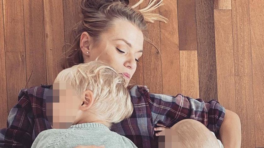 Emilia Komarnicka-Klynstra jest mamą dwóch synów: trzyletniego Kosmy i dziesięciomiesięcznego Tymoteusza