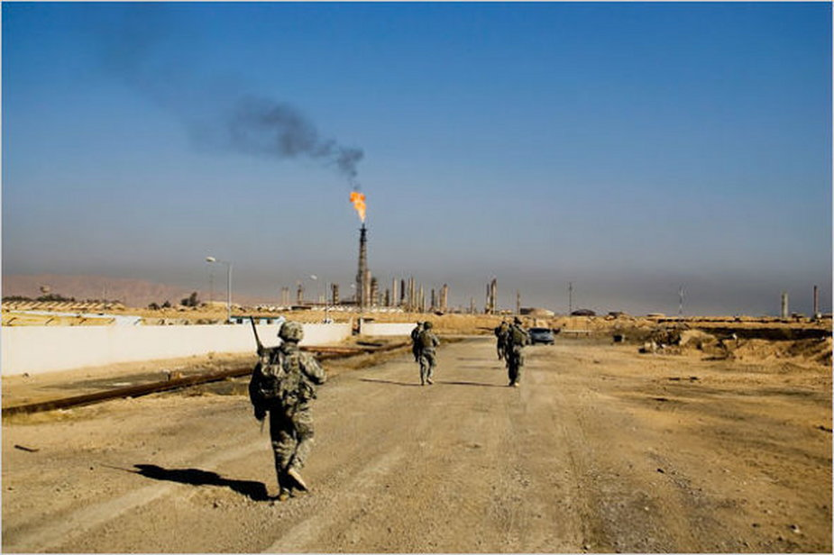 Rafineria Baiji w Iraku - okolice