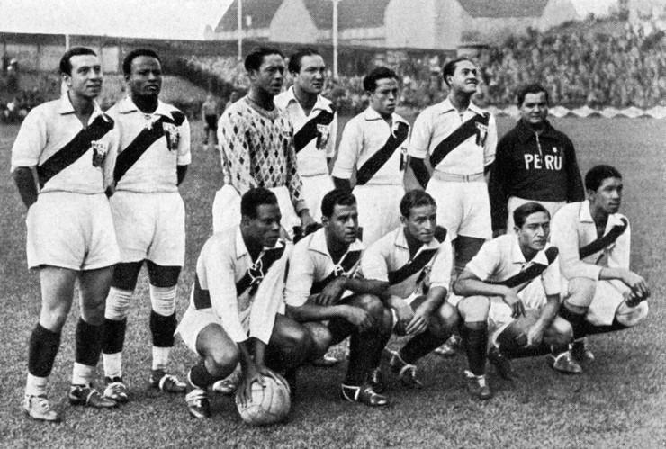 Reprezentacija Perua u Berlinu 1936