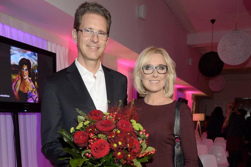 Agata Młynarska i Przemysław Schmidt