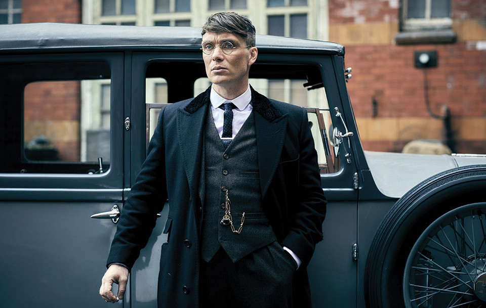 "Cillian Murphy jako Thomas ""Tommy"" Shelby (serial ""Peaky Blinders"")"