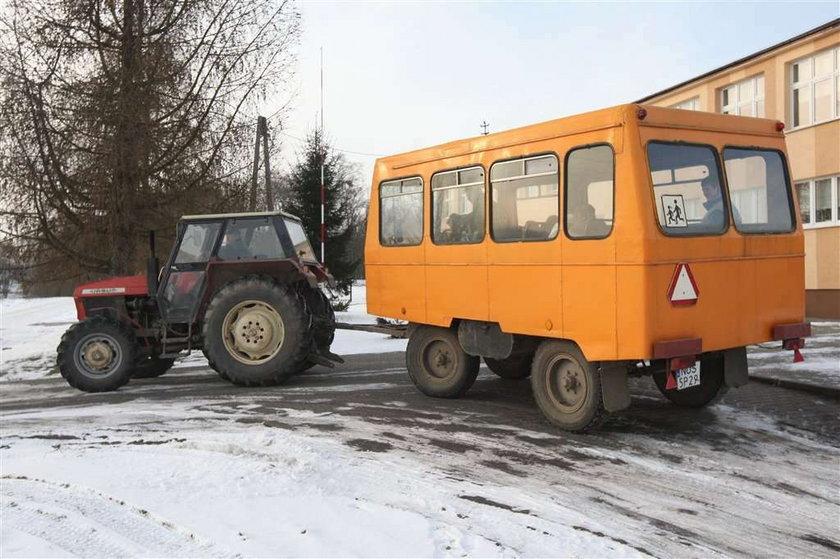 Tak do szkoły jeżdżą wiejskie dzieci