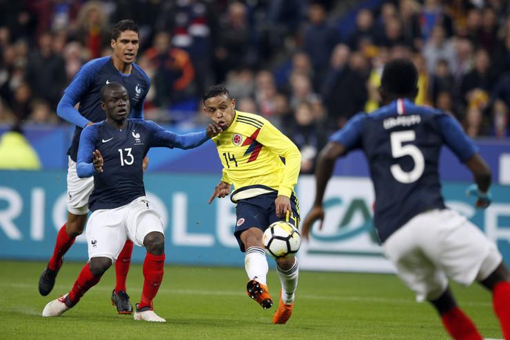 Francuska - Kolumbija