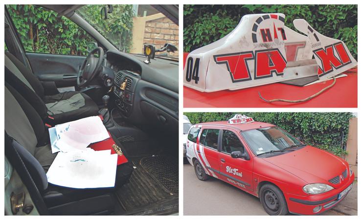 Napad na taksistu kombo