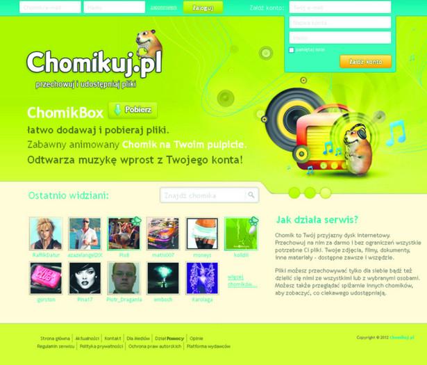 Chomikuj.pl to obecnie jeden z najgorętszych polskich portali. Jednak jego rosnąca popularność coraz bardziej doskwiera wydawcom książek, muzyki czy filmów, którzy twierdzą, że serwis zarabia na piractwie