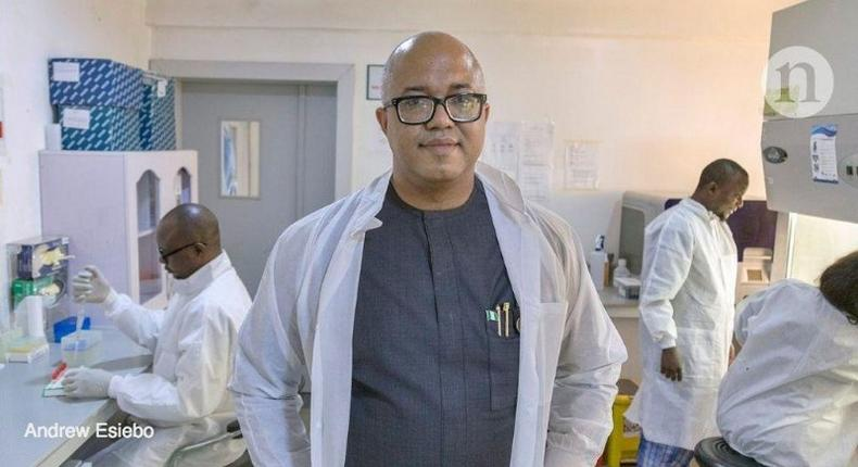 Dr Chikwe Ihekweazu is NCDC boss (LinkedIn)