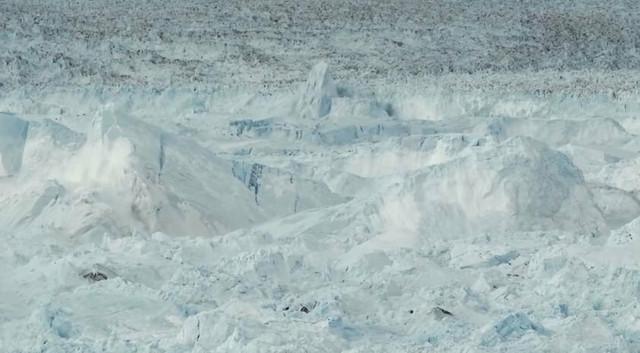 Dužina ovog impozantnog lednika je bila oko 1.600 metara