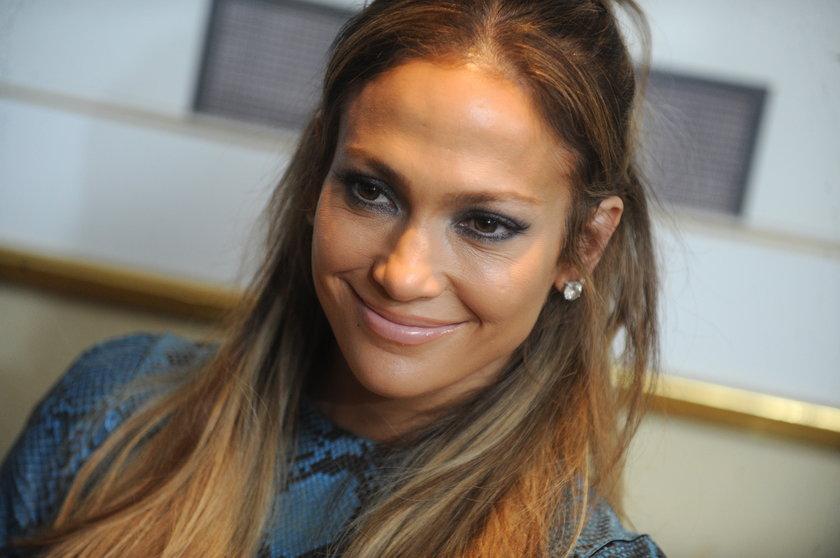 """Jennifer Lopez na konferencji prasowej """"American Idol"""""""