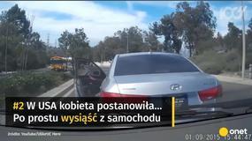 Pięć najbardziej absurdalnych wypadków drogowych