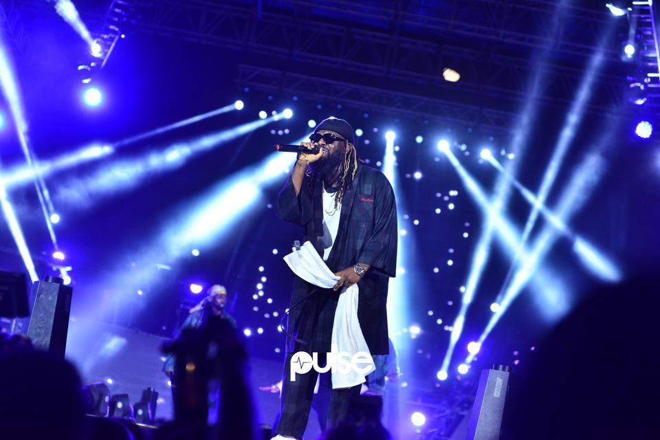 Timaya performing at Born In Africa Festival 2018