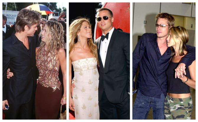 Slike koje čuvaju tajne ljubavi Dženifer Aniston i Breda Pita