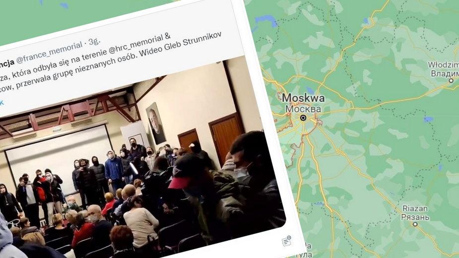 Grupa zamaskowanych mężczyzna przerwała seans filmu Agnieszki Holland w Moskwie