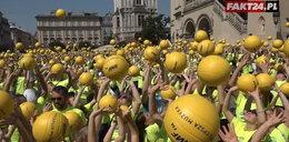 Polacy pobili rekord Guinnessa na Krakowskim Rynku