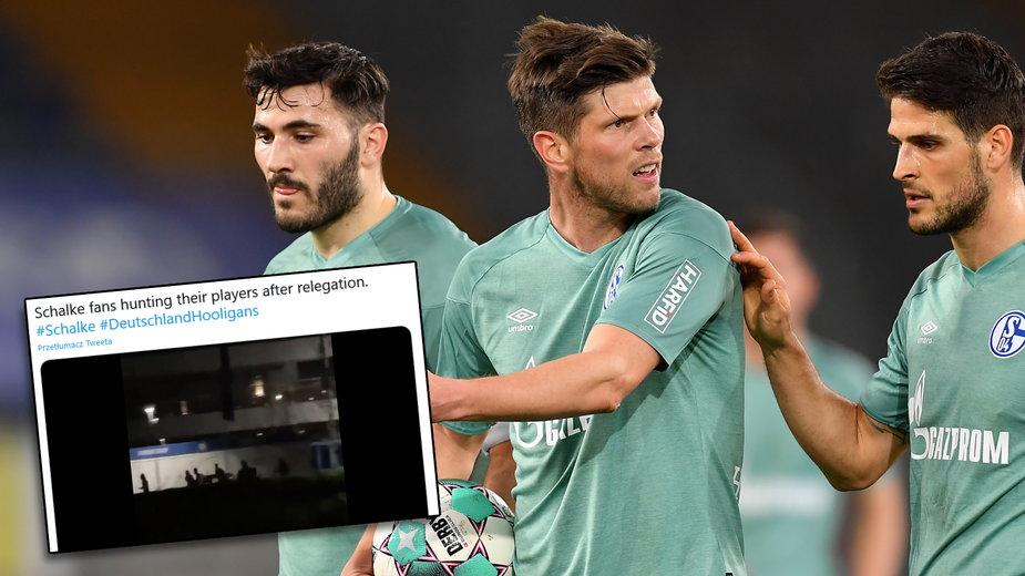 """Drastyczne kulisy """"polowania"""" na piłkarzy Schalke 04. """"Nigdy nie zapomnę strachu w oczach"""""""