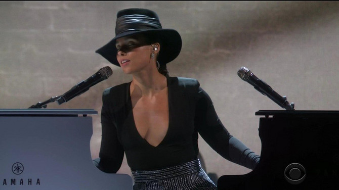 Ališa Kiz sinoć na dodeli Gremi nagrada u Los Anđelesu