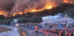 Płonie jeden z greckich kurortów!