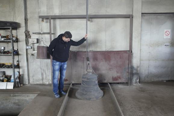 Tek izliveno zvono: proces pripreme traje 20 dana
