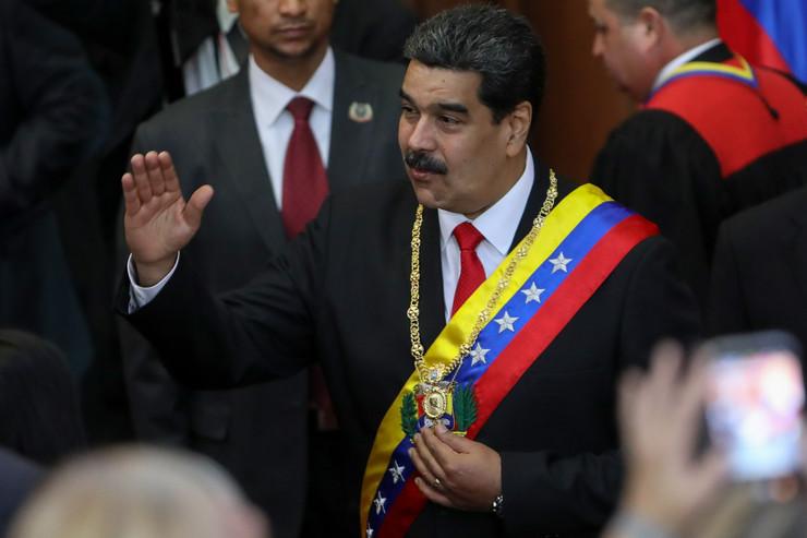 Nikolas Maduro, EPA - CRISTIAN HERNANDEZ