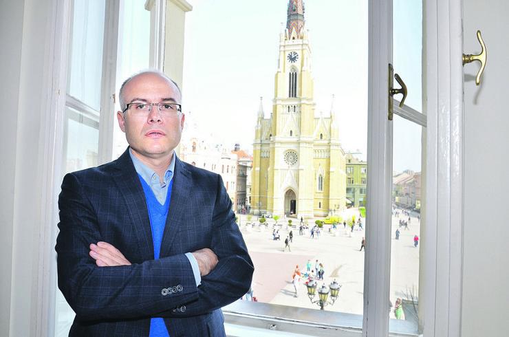 Miloš Vučević, gradonačelnik Novog Sada