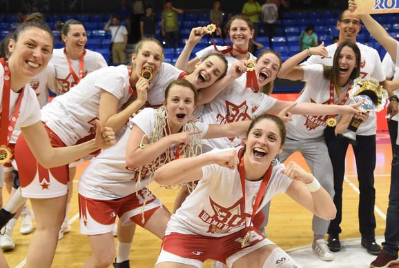 Šampionke: Košarkašice Crvene zvezde