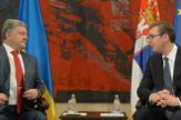 Aleksandar Vučić, Petar Porošenko