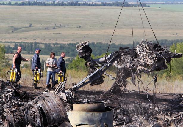 Ukraina jest gotowa przekazać Holandii kierownictwo w śledztwie w sprawie katastrofy malezyjskiego boeinga EPA/IGOR KOVALENKO