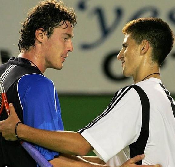 Marat Safin i Novak Đoković