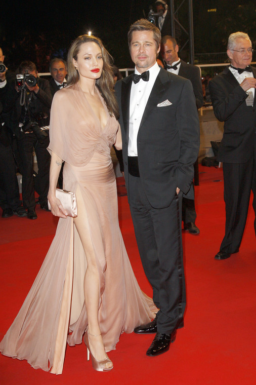 Angelina Jolie and Brad Pitt at the Cannes Festival