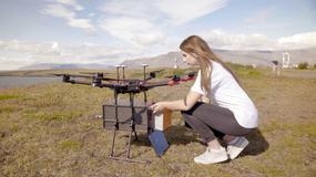 Drony dostarczają przesyłki na Islandii