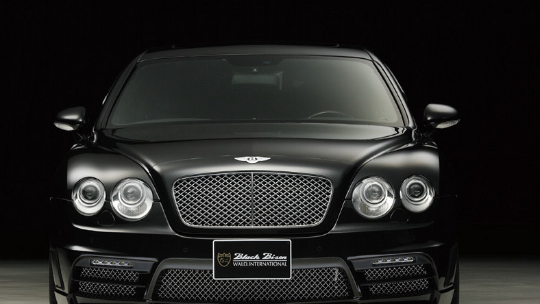 Bentley Continental Flying Spur po japońsku
