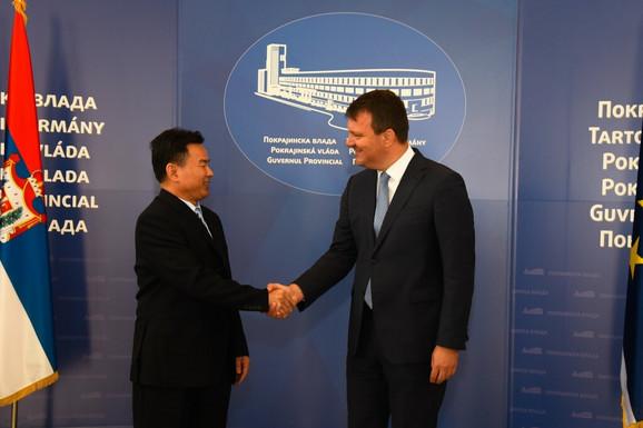 Sa današnjeg susreta: Sjao Đeo i Igor Mirović