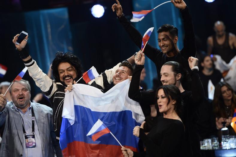 Tak Siergiej Łazariew cieszył się z awansu do finału