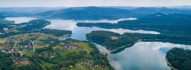 Jezioro Solińskie, Bieszczady
