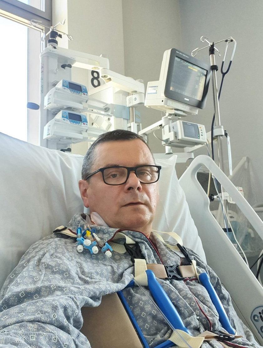 Były minister trafił do szpitala!