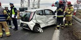 Dramatyczny wypadek w Zimnicach Małych. Wśród rannych jest dziecko
