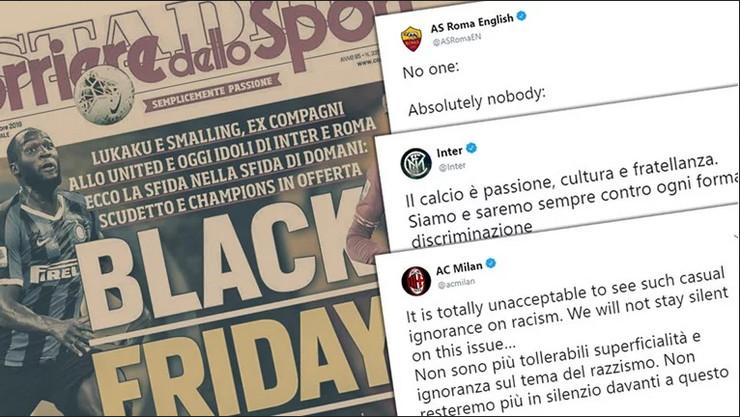 Korijere delo Sport, rasizam, naslovna