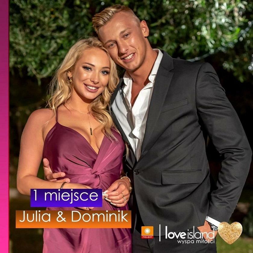 """Julia i Dominik z """"Love Island"""""""