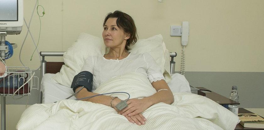Anna Popek miała problemy z sercem. Przeszła operację