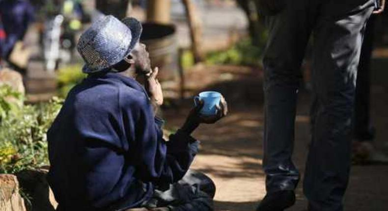 Beggars risk being arrested after an order by governor