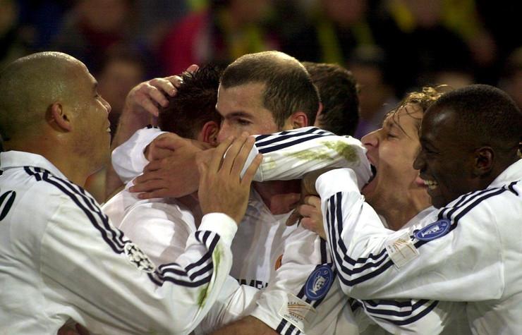 Klod Makelele, Ronaldo, Zinedin Zidan, Mičel Solgado i Havier Garsija Portiljo