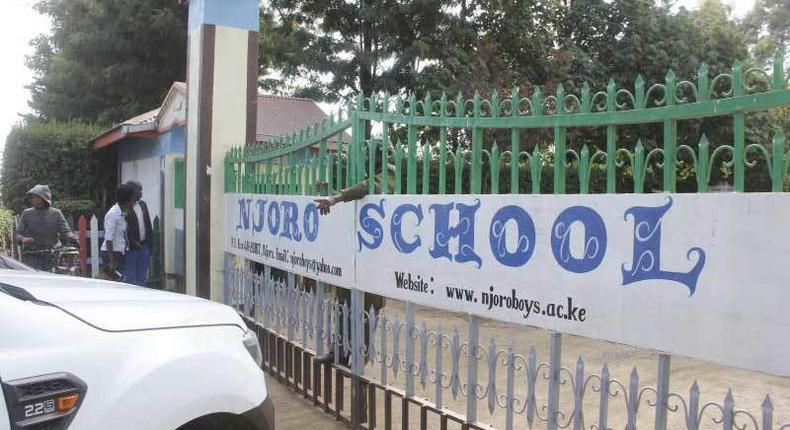 Njoro Boys High School has been closed indefinitely.