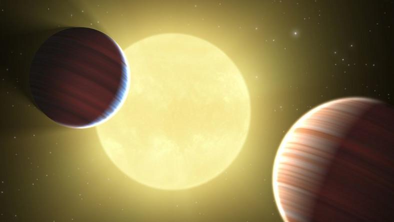 Znaleźli gwiazdę i planety krążące wokół niej