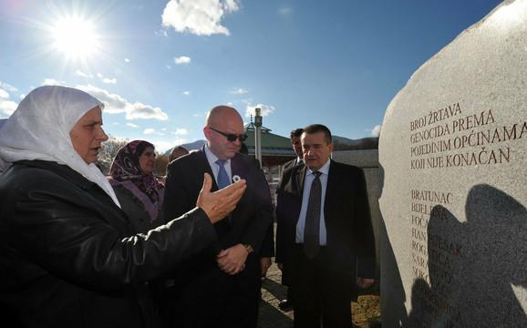 U poseti Srebrenici