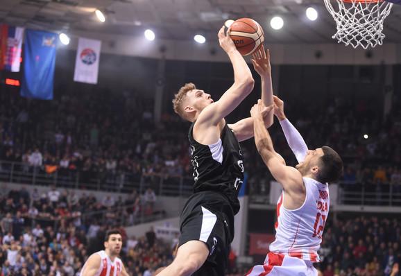 Džok Lendejl je poenima u finišu doneo trofej Partizanu u Kupu Radivoja Koraća