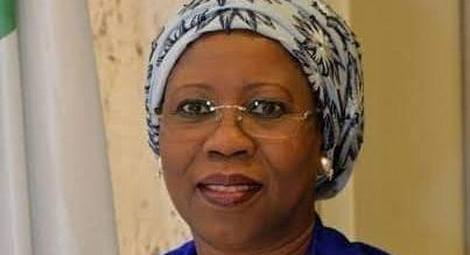 The Minister of State for Industry, Trade and Investment, Amb. Mariam Katagum (Today)