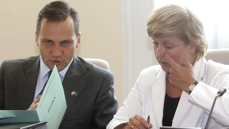 Szef MSZ Radosław Sikorski zabronił Annie Fotydze negocjować w USA
