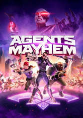 Okładka: Agents of Mayhem